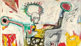 Things to do in August: Jean-Michel Basquiat, Untitled,1982 Courtesy Museum Boijmans Van Beuningen, Rotterdam. © The Estate of Jean-Michel Basquiat. Licensed by Artestar, New York. Photo: Studio Tromp, Rotterdam