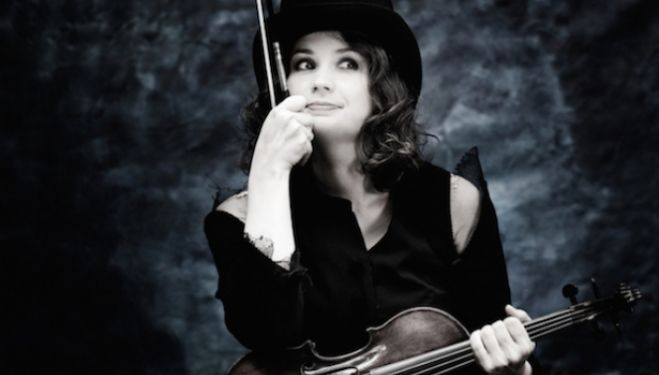 Patricia Kopatchinskaja is the soloist in the elusive Schumann Violin Concerto. Photo: Julia Wesely