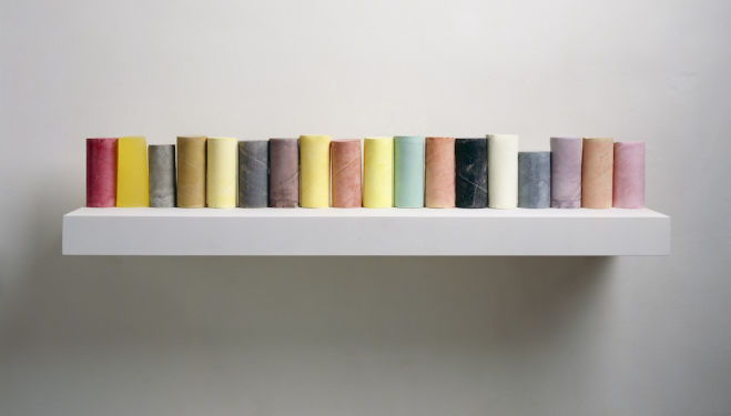 Rachel Whiteread, Line-up, 2007-8