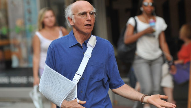 Larry David in Curb Your Enthusiasm, image: HBO