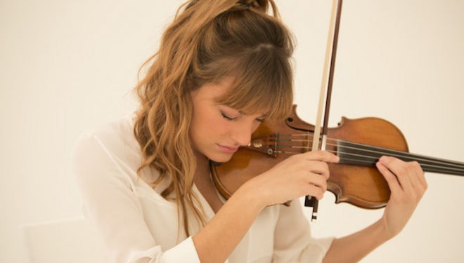 Violinist Nicola Benedetti will play Beethoven's Violin Concerto. Photo: Simon Fowler