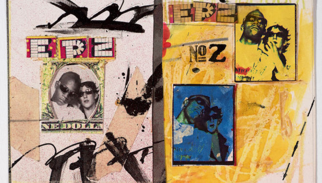 Jean-Michel Basquiat and Jennifer Stein, Anti-Baseball Card Product, 1979. Courtesy Jennifer Von Holstein.©Jennifer Von Holstein and The Estate of Jean-Michel Basquiat. Licensed by Artestar, New York