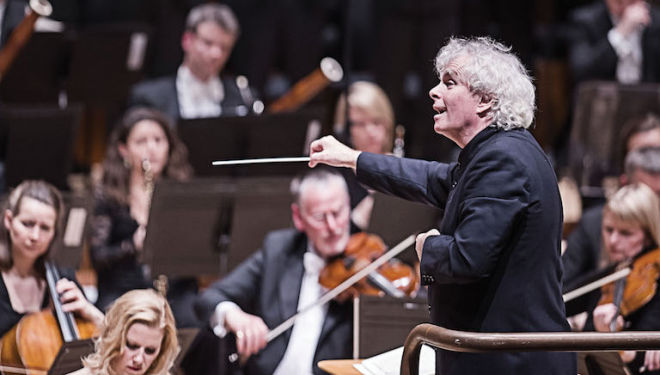 Sir Simon Rattle has transformed the London Symphony Orchestra overnight. Photo: Tristram Kenton