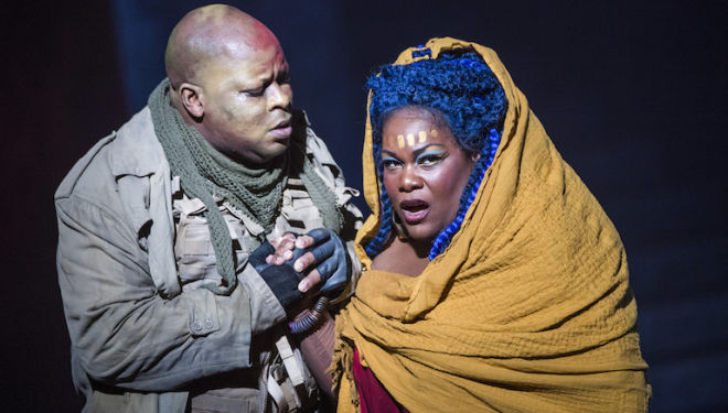 Verdi's Aida review, English National Opera