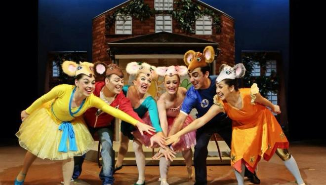 Angelina Ballerina The Mousical, Richmond Theatre