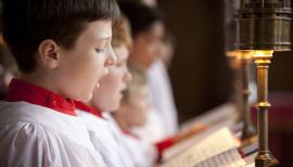 The boys and men of the Temple Church Choir will sing sacred and seasonal music at Cadogan Hall
