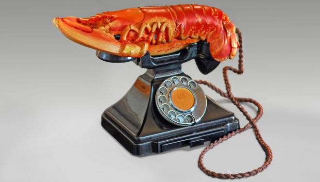 Salvador Dalí with the collaboration of Edward James, Lobster Telephone, 1938