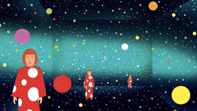 We're dotty for Yayoi Kusama's picture book