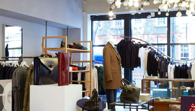 New location for The Shop at Bluebird in Covent Garden, London