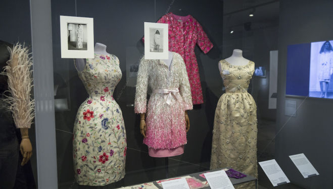 Balenciaga Shaping Fashion 'Embellishment' case (2) (c) Victoria and Albert Museum, London