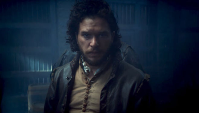 Kit Harrington as Robert Catesby in BBC One's Gunpowder