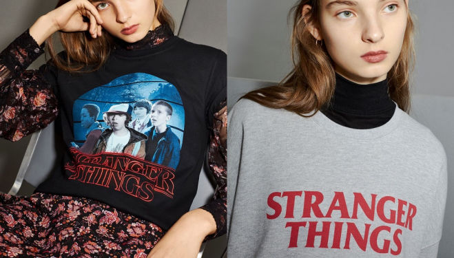 Topshop X Stranger Things 2 - the pop up on Oxford Street that's as weird as they come