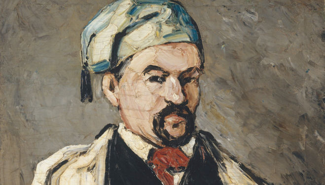 Paul Cézanne, Uncle Dominique in Smock and Blue Cap, 1866-7, Metropolitan Museum of Art, Wolfe Fund, 1951 acquired from The Museum of Modern Art, Lillie P. Bliss Collection (53.140.1)