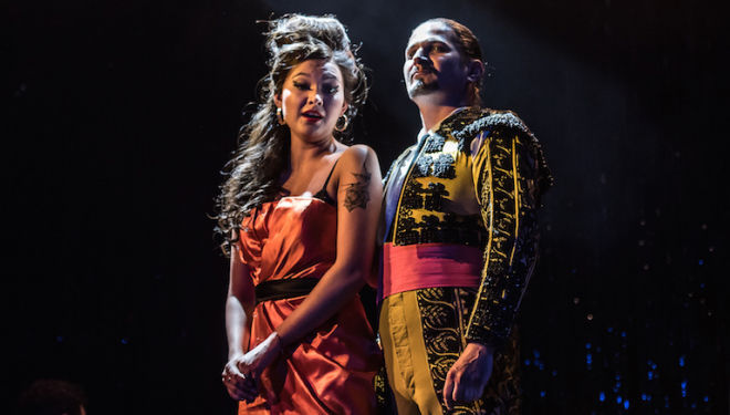 La Tragédie de Carmen review, Royal Opera at Wilton's Music Hall