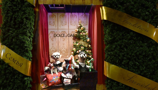 Yule stalls: Dolce and Gabbana's Christmas Market, Harrods 2017