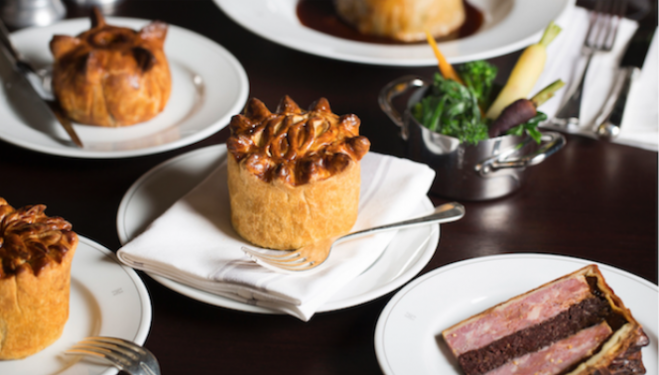 Calum Franklin's Pie Room at The Rosewood Hotel, London