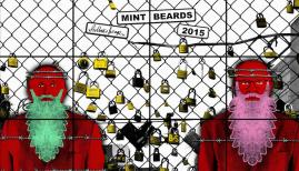 Gilbert & George, MINT BEARDS, 2015 © Gilbert & George, Courtesy White Cube