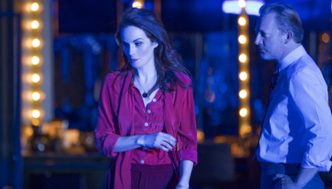 Michelle Dockery and Bryan Cranston shine in Network at the National Theatre