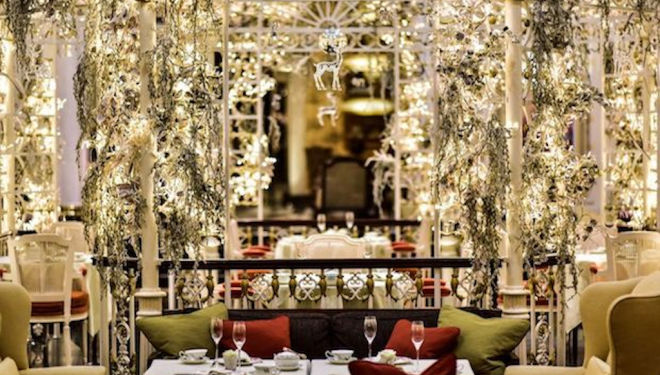 Scents of Christmas, Penhaligon's Afternoon Tea at the Savoy