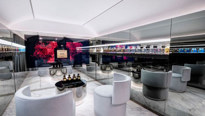 Inside Tom Ford's first standalone beauty store in London
