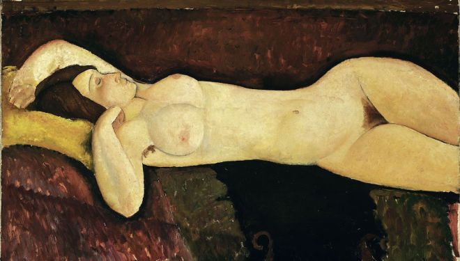 Tate's Modigliani is a decadent spectacle
