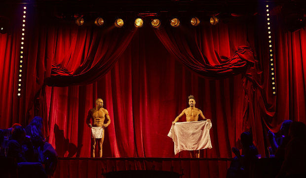 The Towel Act - La Serviette, Leon Fagbemi and LJ Marles_Photo Credit Brinkhoff and Mogenburg