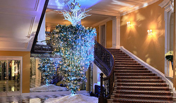 Karl Legerfeld's Claridge's Christmas Tree 2017