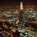 The Shard at night
