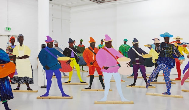 Lubaina Himid is the first black woman to win the Turner Prize
