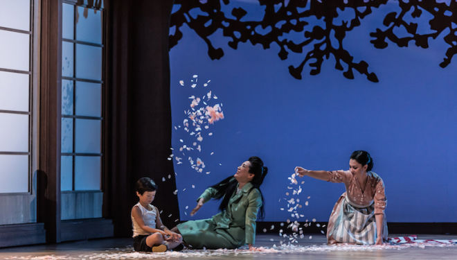Madama Butterfly opens Glyndebourne's 2018 season. Photo: Clive Barda