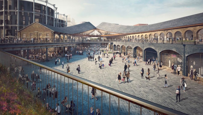 A brand new shopping centre is opening in King's Cross