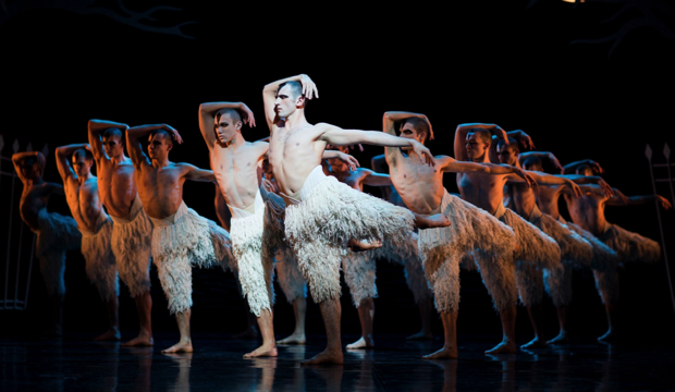 Matthew Bourne's Swan Lake, photo New Adventures