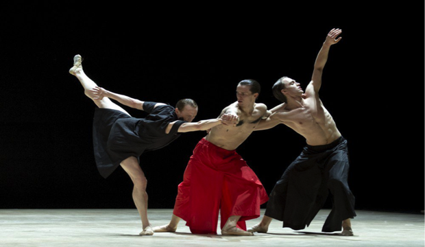 Matthew Ball, Calvin Richardson, Edward Watson in Obsidian Tear, ROH 2016 photo Andrej Uspenski