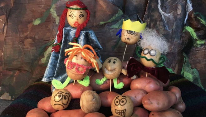 Potato Puppet Playground, Centre17