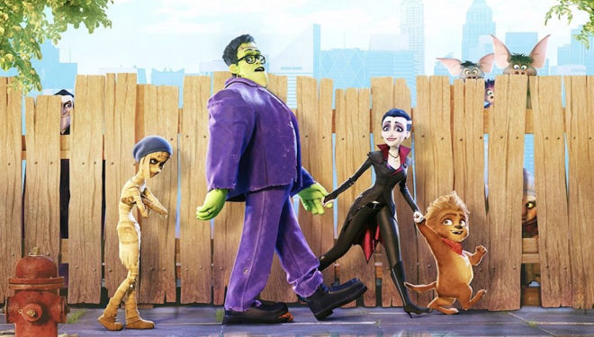 Here's the trailer for Monster Family: an animated comedy with a plot twist