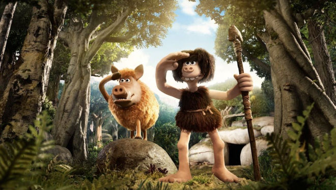 Early Man is a plasticine masterpiece