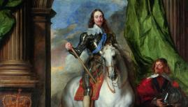 Anthony van Dyck (1599–1641), Charles I on Horseback with M. de St Antoine, 1633. Royal Collection Trust / © Her Majesty Queen Elizabeth II 2018  Exhibition organised in partnership with Royal Collection Trust