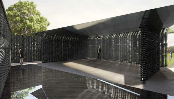 Frida Escobedo designs this year's Serpentine Pavilion
