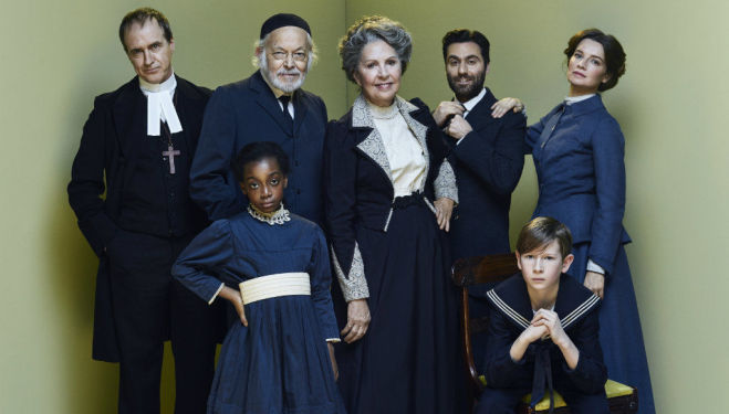 The cast of Fanny and Alexander, Old Vic Theatre. Photo by Jay Brooks