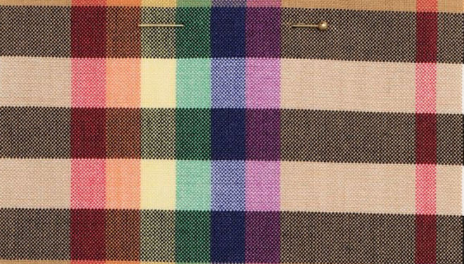 Burberry rainbow check ethical fashion