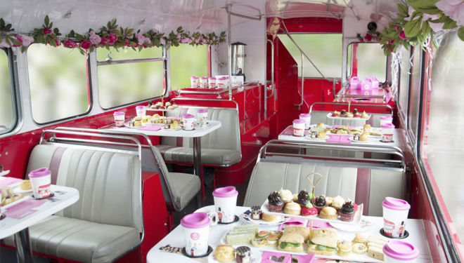 Step aboard the par-tea bus