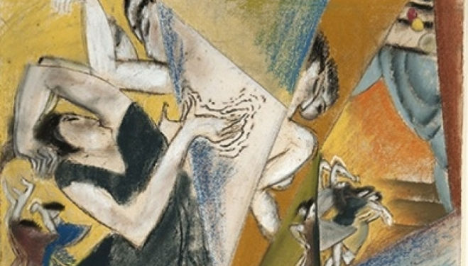 Max Weber, The Dancers (Detail), 1912 Courtesy Ben Uri Gallery