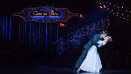 Matthew Bourne's Cinderella, Andrew Monaghan and Ashley Judd, photo Johan Persson