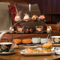 Champagne Afternoon Tea, The Den at St Martins Lane hotel