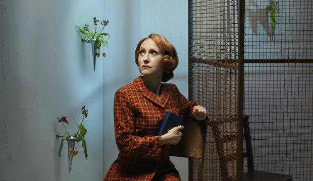 Lia Williams, The Prime of Miss Jean Brodie, Donmar Warehouse. Photo by David Stewart