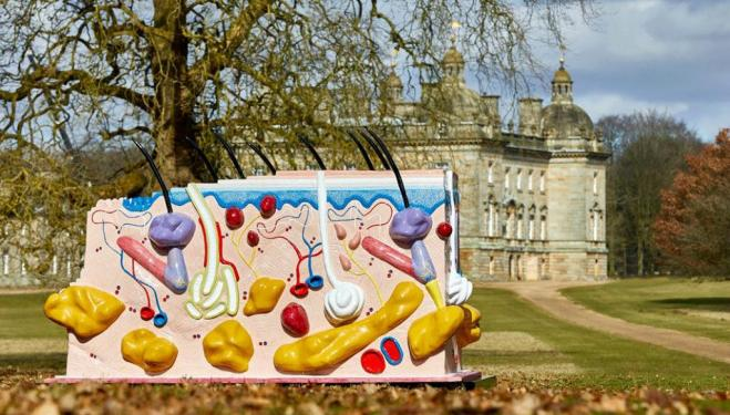 Damien Hirst sparks controversy at Houghton Hall