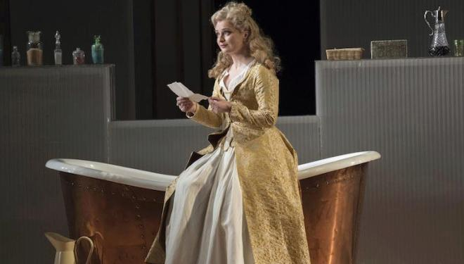Lucy Crowe as the Countess in The Marriage of Figaro at English National Opera. Photo: Alastair Muir