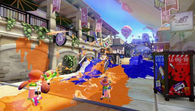 Splatoon © 2015 Nintendo.