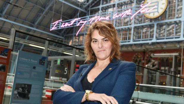 Tracey Emin unveils new public artwork