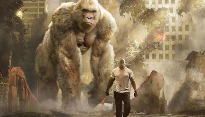 Rampage: Dwayne Johnson saves the world